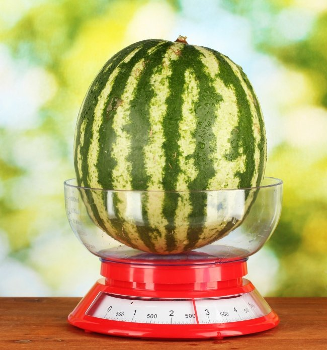 По весу и объему
