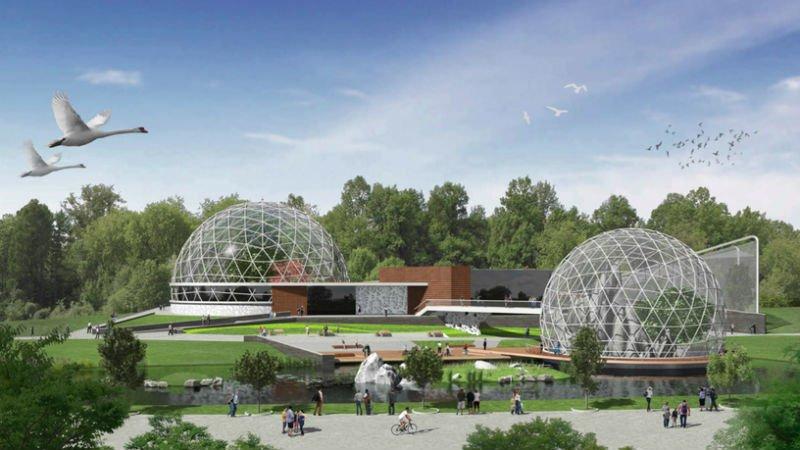 2) Реконструкция Киевского зоопарка