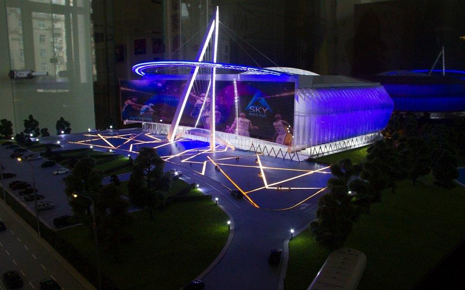 4) Спортивная арена на проспекте Шухевича