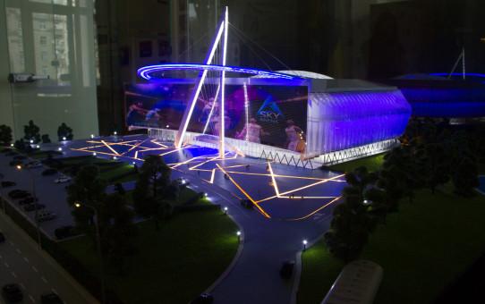 Виталий Кличко: «В Киеве появится мультифункциональная спортивная арена»