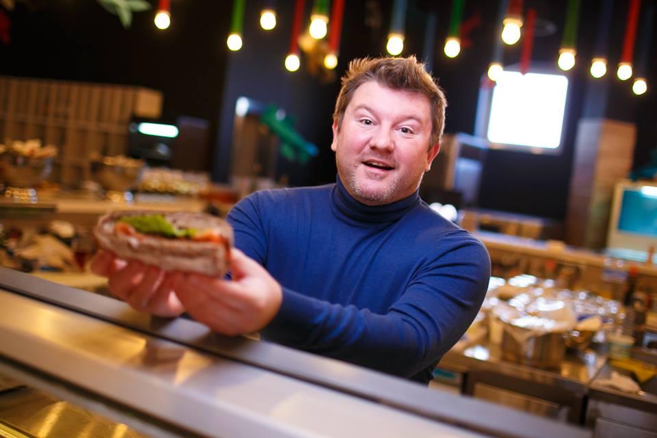 Украинский ресторатор Дмитрий Борисов