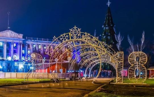 Украина рождественская: как выглядят елки в разных городах страны - обзор соцсетей