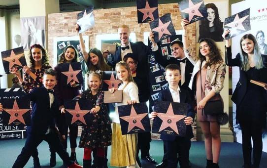 Состоялась премьера первого в Украине фильма полностью снятого детьми под названием «Синяя птица»!