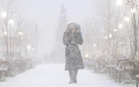 В Украину надвигаются снегопады и сильные морозы