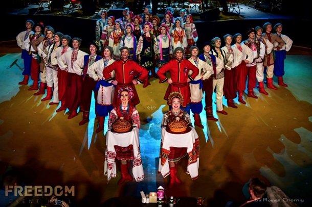 Ансамбль ім. П. Вірського з Різдвяним концертом у Freedom Event Hall