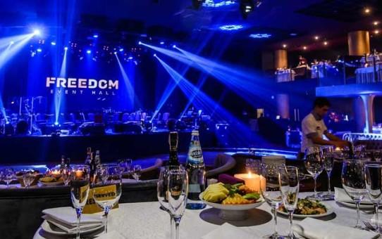 Freedom Event Hall оригинально поздравил всех меломанов столицы