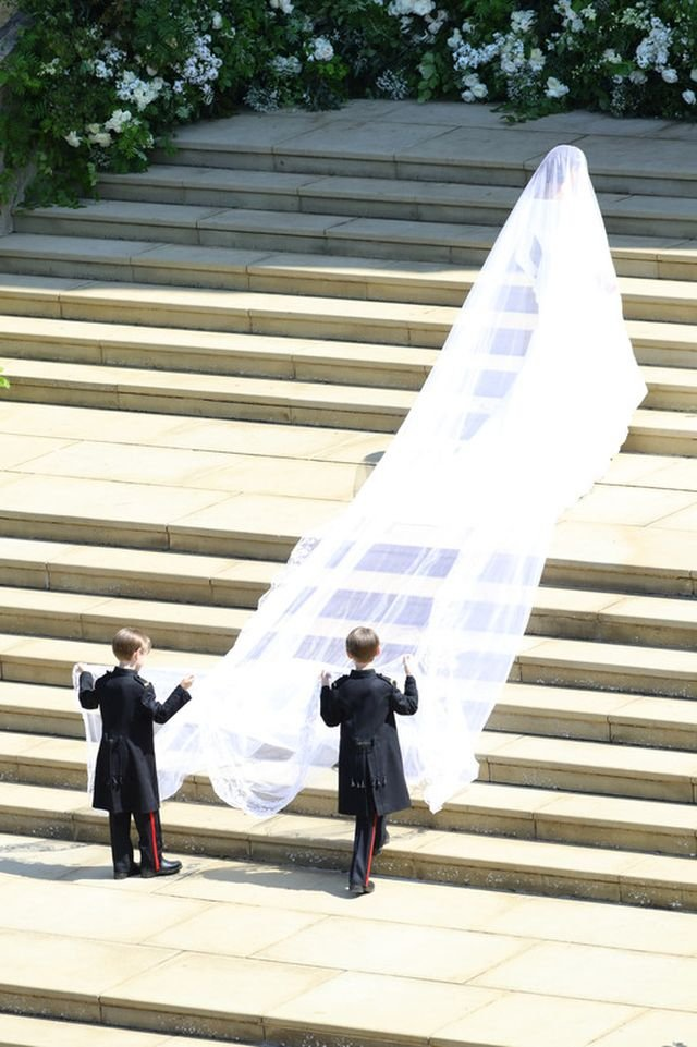 Just married. Меган Маркл и принц Гарри поженились
