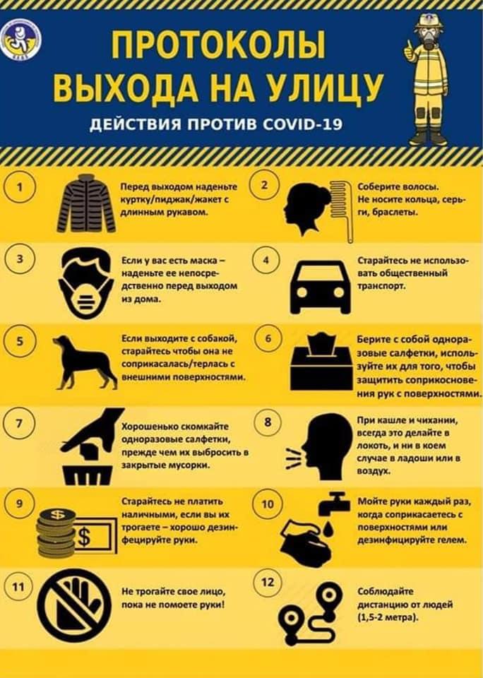 Придерживайтесь этих простых правил!!! COVID-19