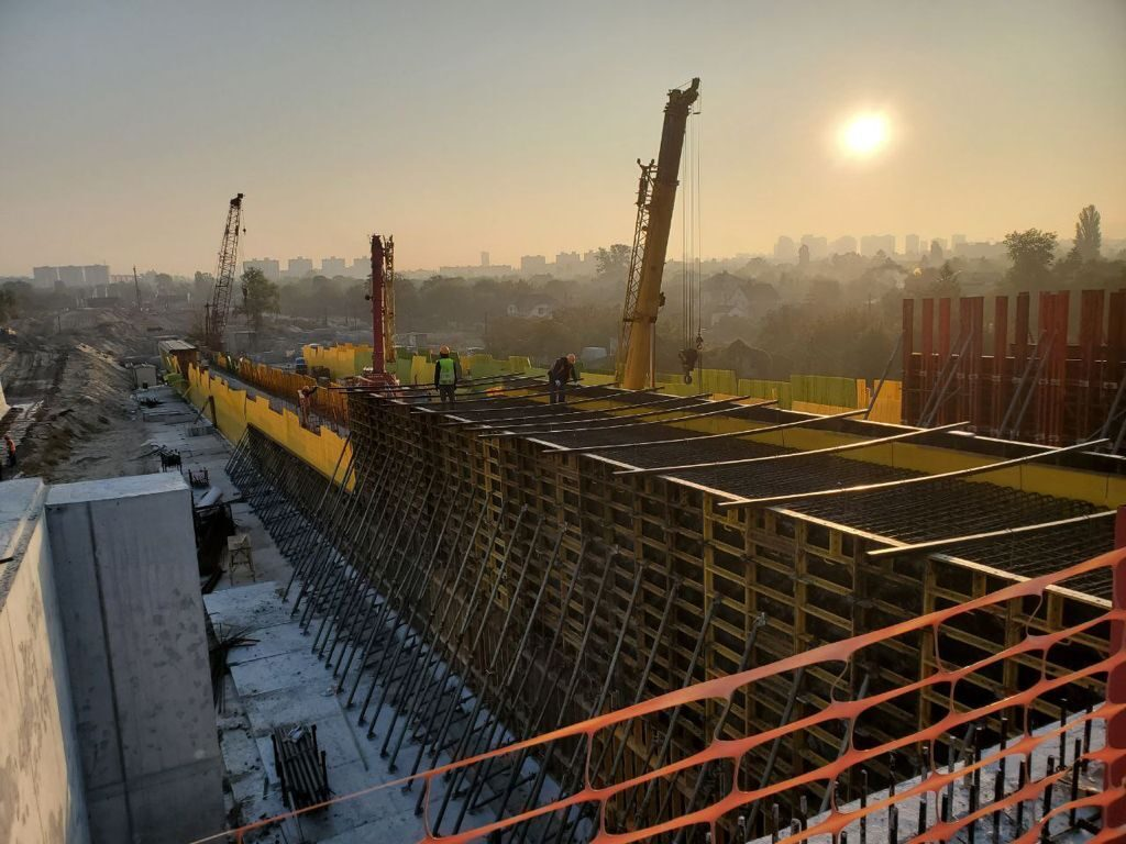 Как происходит строительство метро на Троещину